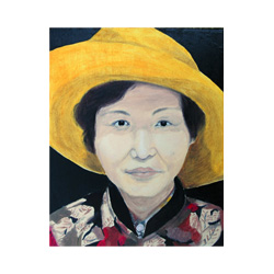 Artist's Mother with Yellow Hat